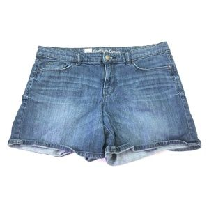 Mossimo Premium Denim Mid Length Shorts R009